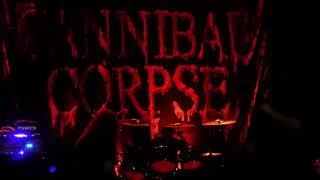 [New song] Cannibal Corpse - Scavenger Consuming Death (live at Le Metronum) - 2018/03/02