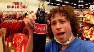 Visité la tienda MÁS GRANDE de Coca-Cola del mundo 😱 ¡Tiene tres pisos! 🥤💰