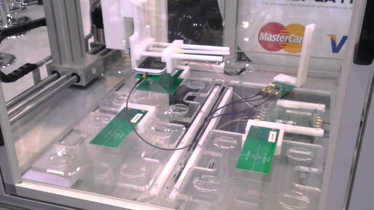 fime nfc forum analog test bench robot youtube. Black Bedroom Furniture Sets. Home Design Ideas