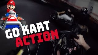 GO KART ACTION! | Moji