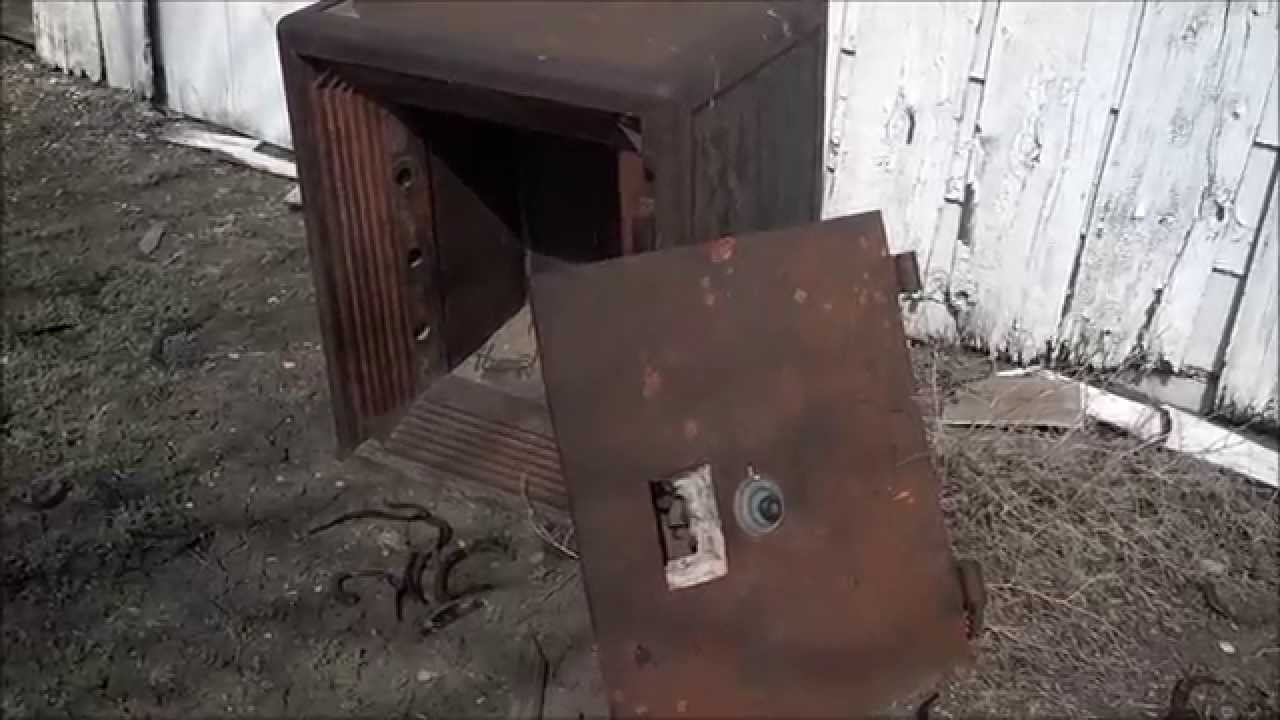 Old Mosler Safe Youtube