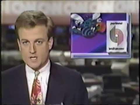 Van Earl Wright on CNN Sports Tonight, 1992