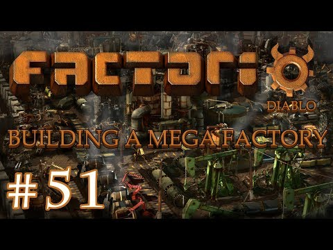 Factorio - Building a Mega Factory: Part 51 building the red chip factory