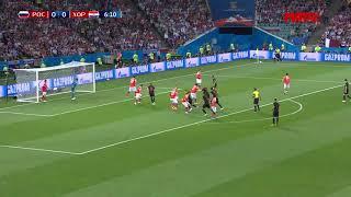 Россия - Хорватия 2:2 (по пен. 3:4) обзор матча 1/4 финал Чемпионата Мира