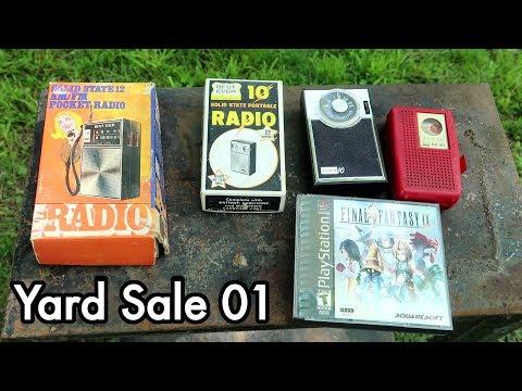 RinoaSG Ebay Yardsale 01: Vintage Radios and Copy of Final Fantasy IX