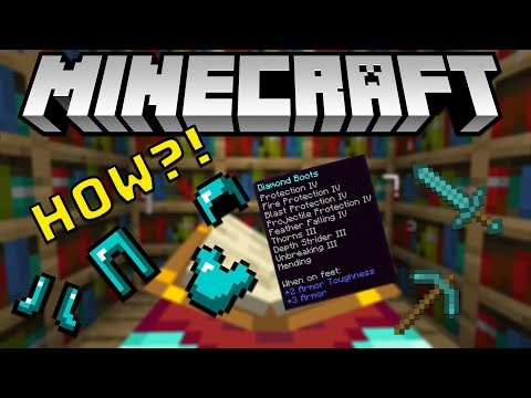 HOW TO GET MAX ENCHANTMENTS IN MINECRAFT 1.14+