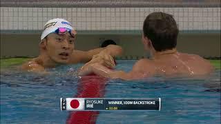 Men's 100m Back A Final | 2018 TYR Pro Swim Series - Columbus