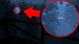 There is A MONSTER hiding in these woods... AND IT