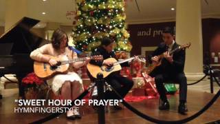 Sweet Hour of Prayer (Live at Crown Music Recital) - Christian fingerstyle guitar ensemble hymns