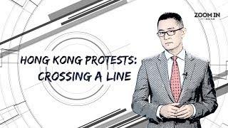 Hong Kong protests: Crossing a line