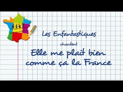 ELLE ME PLAIT BIEN COMME ÇA LA FRANCE  - Les Enfantastiques - Chorale d'enfants