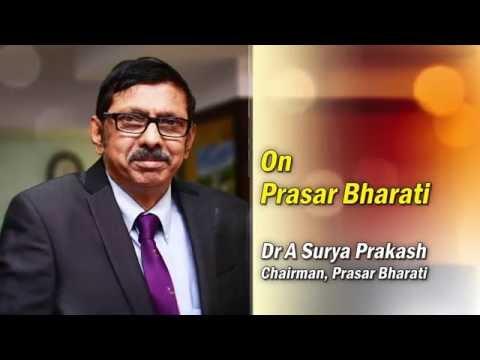 Chairman Prasar Bharati - On Prasar Bharati