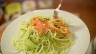 Сыроедческие Спагетти с Томатным Соусом