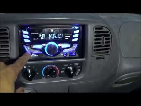 Double Din Stereo Install 2001 Ford Expedition