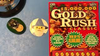 Florida Lottery Scratch Offs - Gold Rush Classic