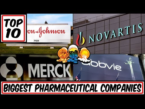 Top 10 Biggest Pharmaceutical Companies in the World (Johnson & Johnson, Roche, Pfizer and More)