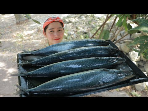 Amazing Steamed Fish Glass Noodle Cooking - Sambak Fish Cooking.