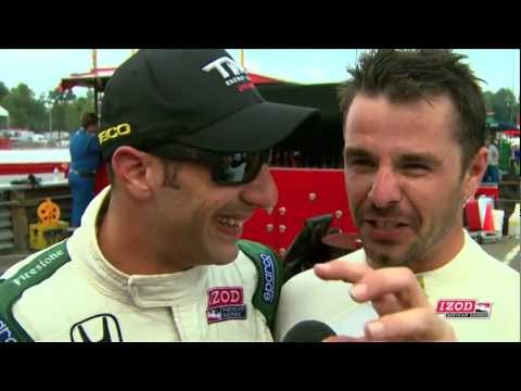 Sato & Kanaan in the Top 5 at Mid-Ohio