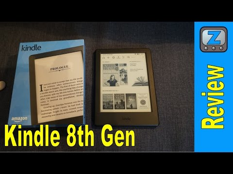 Amazon Kindle (8th Gen) Reviews, Specs & Price Compare