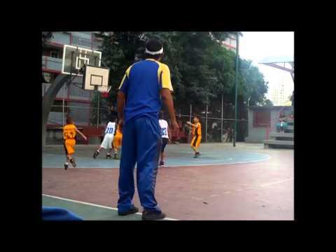 Juego minibasket Chato Candela vs La Vega  en bloque 2 artigas Caracas - Venezuela
