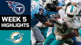 Titans vs. Dolphins | NFL Week 5 Game Highlights