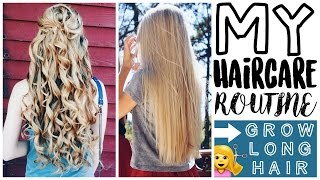 My Hair Care Routine: How to Grow Long Hair