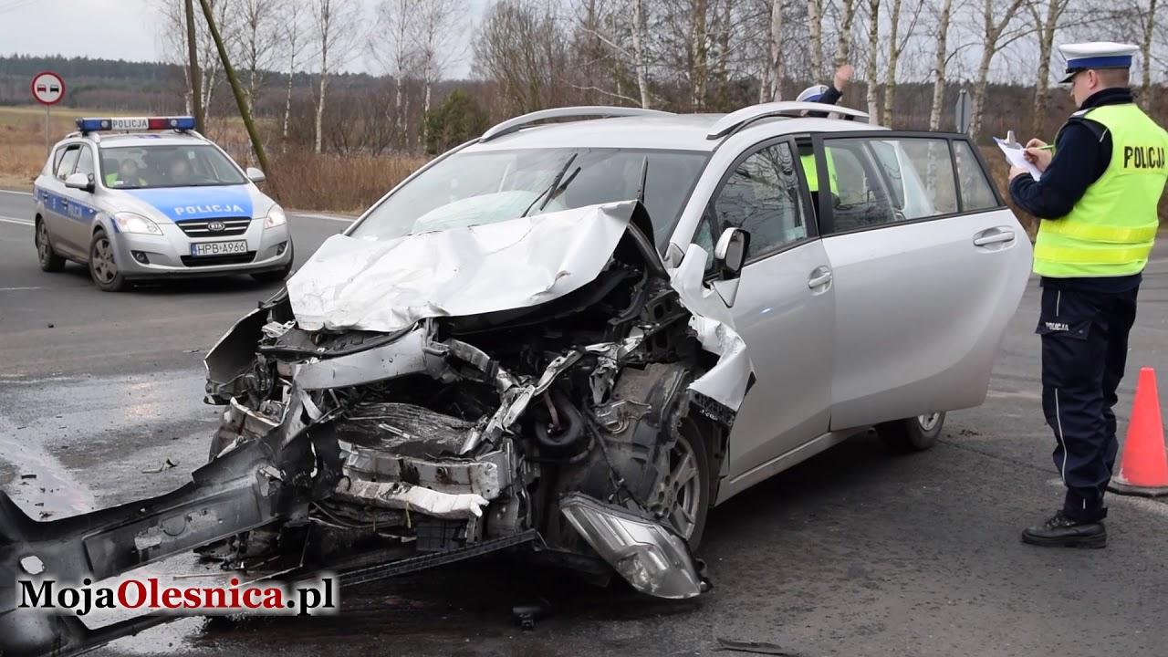 12.03.2018 Drołtowice – wypadek na DK25