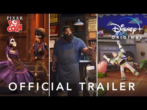 Pixar Popcorn | Official Trailer | Disney+