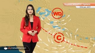 Weather Forecast for Jan 27: Snow in Kashmir, Himachal; Rain in Delhi, Chennai, Bangalore