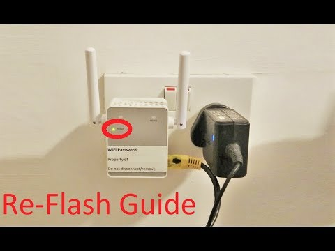Netgear Blinking Power LED Firmware Fix/Re-Flash Step by Step Guide (WiFi  Extenders and Router)