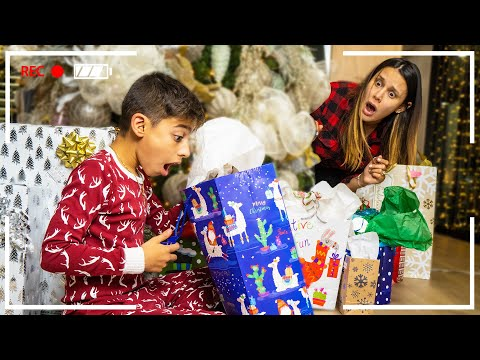 We CAUGHT our SON Opening Christmas Presents EARLY! | The Royalty Family