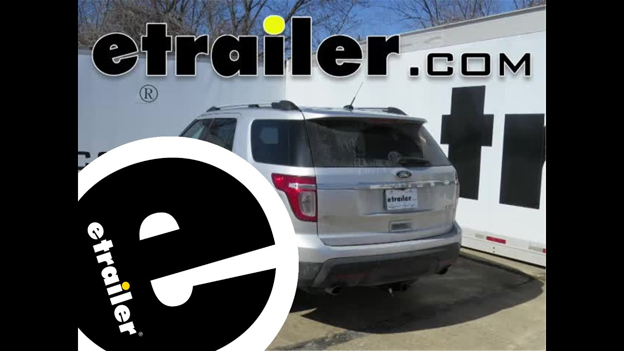 small resolution of trailer wiring harness installation 2015 ford explorer etrailer com