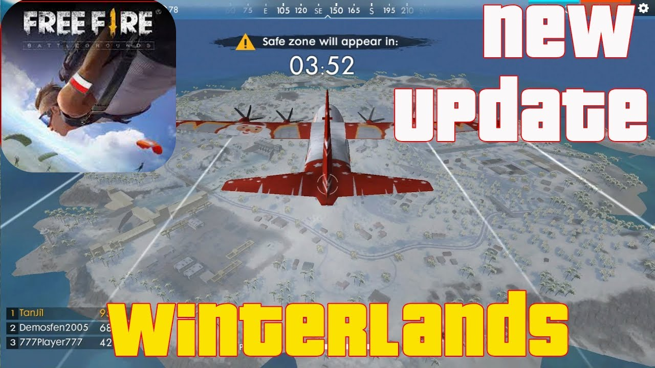 free fire new update winterlands gameplay android 60. Black Bedroom Furniture Sets. Home Design Ideas