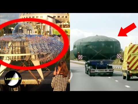 5 UFO Transport Sightings Caught On Camera!