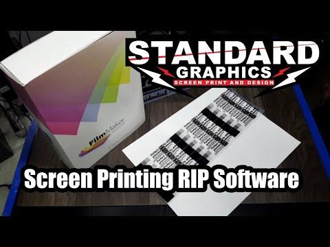 Screen Printing RIP Software Unboxing FilmMaker V4 from CadLink Technologies