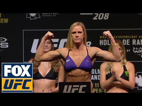 Full Weigh-In: Holm vs. de Randamie | UFC 208