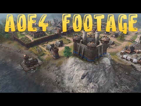 Age of Empires 4 🔥 Game Footage From Dark to Imperial Age