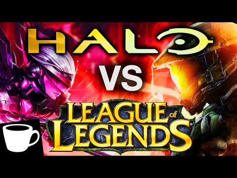 HALO VS LEAGUE OF LEGENDS | Two Games With More in Common Than You Think...