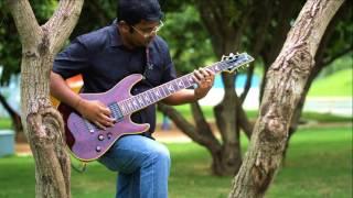 Kabali Theme Neruppu Da Guitar amp Keyboard Cover