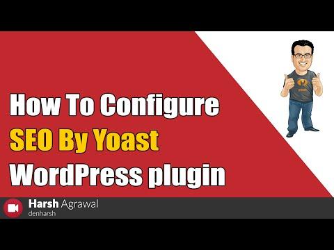 How To Configure SEO By Yoast WordPress plugin - 동영상