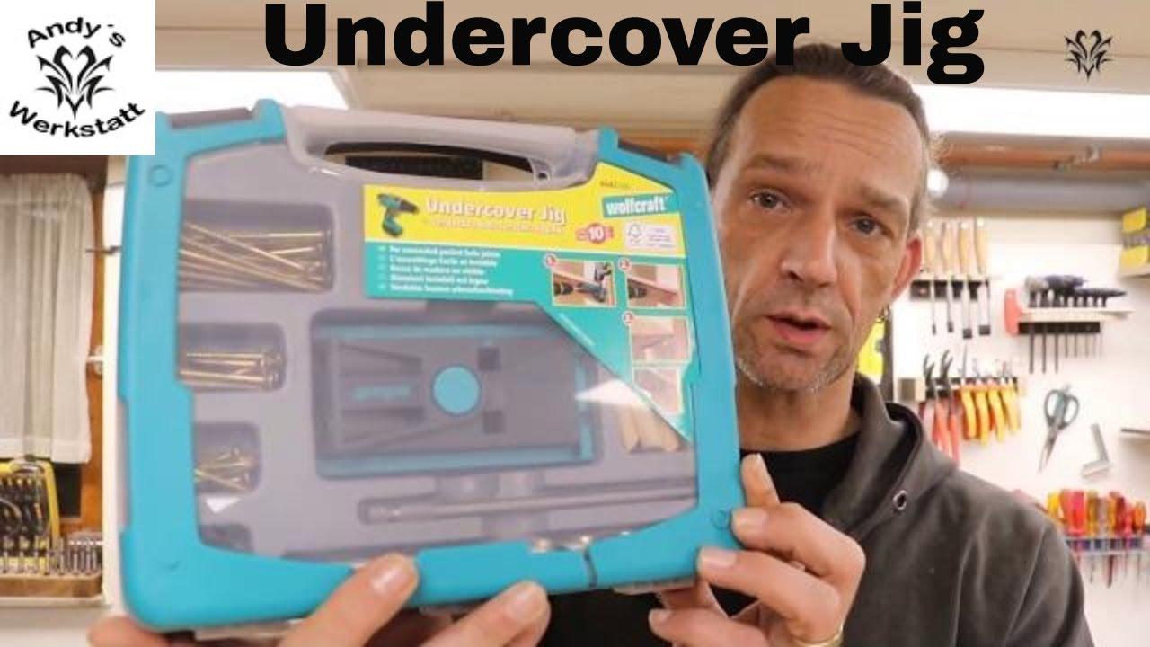 Sehr Wie geht das? Undercover Jig von Wolfcraft richtig nutzen Teil 1 IY34