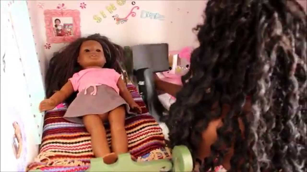 my american girl doll house tour youtube