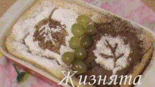 запеканка из манной каши с виноградом.wmv
