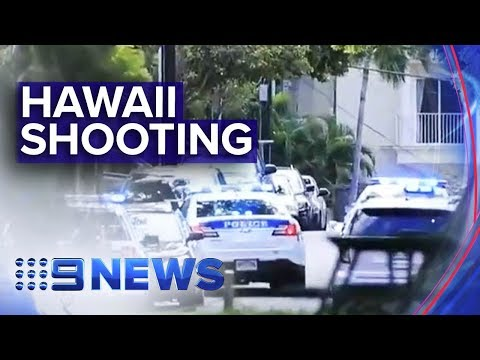 Two police officers dead after shooting in Hawaii | Nine News Australia