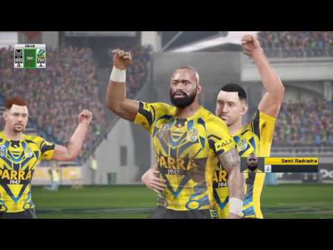 Rugby League Live 4 – Warriors Career ep.2 (9's Round 2)