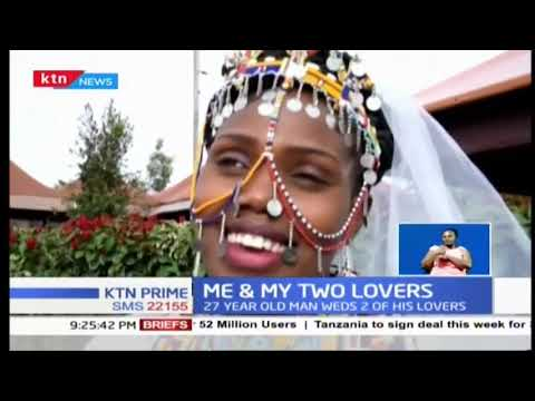 Rare wedding: 27 year old man marries two women on the same day