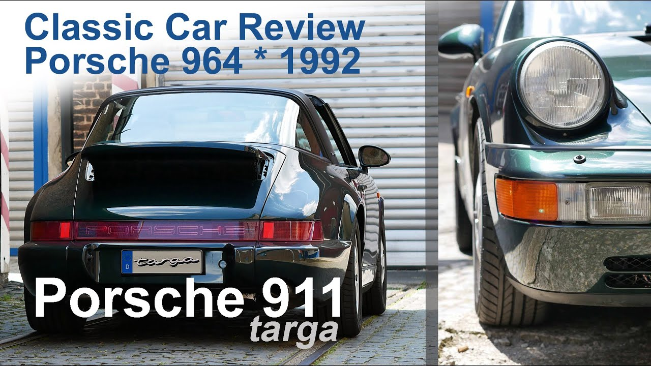 porsche 911 targa model 964 build 1992 review retro restored