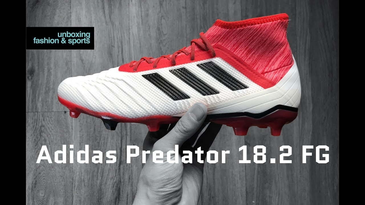 effee312dff5 Adidas Predator 18.2 FG 'Cold Blooded Pack' | UNBOXING | football boots |  2018 | 4K