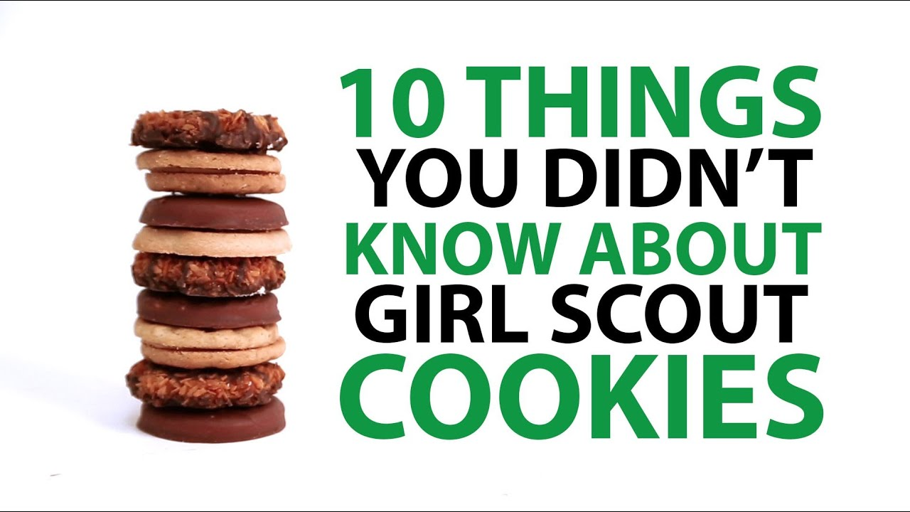 10 things you didn t know about girl scout cookies