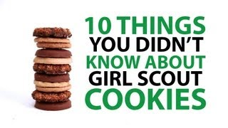 10 things you didn't know about girl scout cookies | mashable